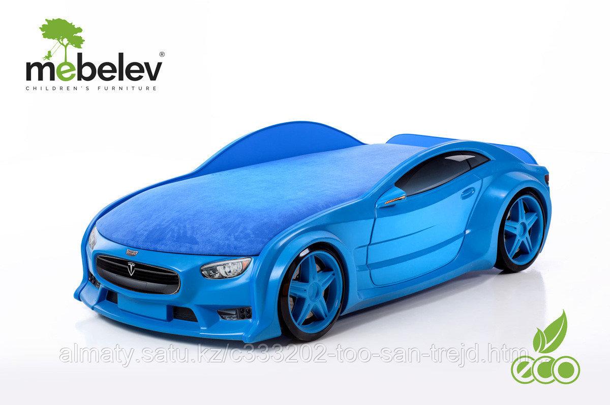 3D кровать-машина NEO ТЕСЛА для детей до 12 лет.