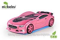 3D кровать-машина NEO ТЕСЛА для детей до 12 лет., фото 6