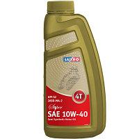 Полусинтетическое моторное масло LUXOIL 10W40 JASO MA-2 SUPER 4T 1л