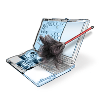 Чистка пыли ноутбука, фото 1