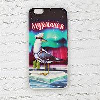 Чехол для телефона iPhone 6 'Мурманск. Чайка'