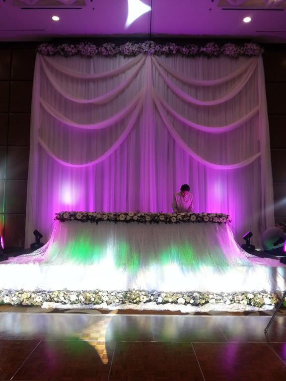 Оформление свадьбы в The Ritz Carlton Almaty
