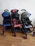 Детская Коляска BabyTime компактная и удобная Джинса(аналог YoYo), фото 2