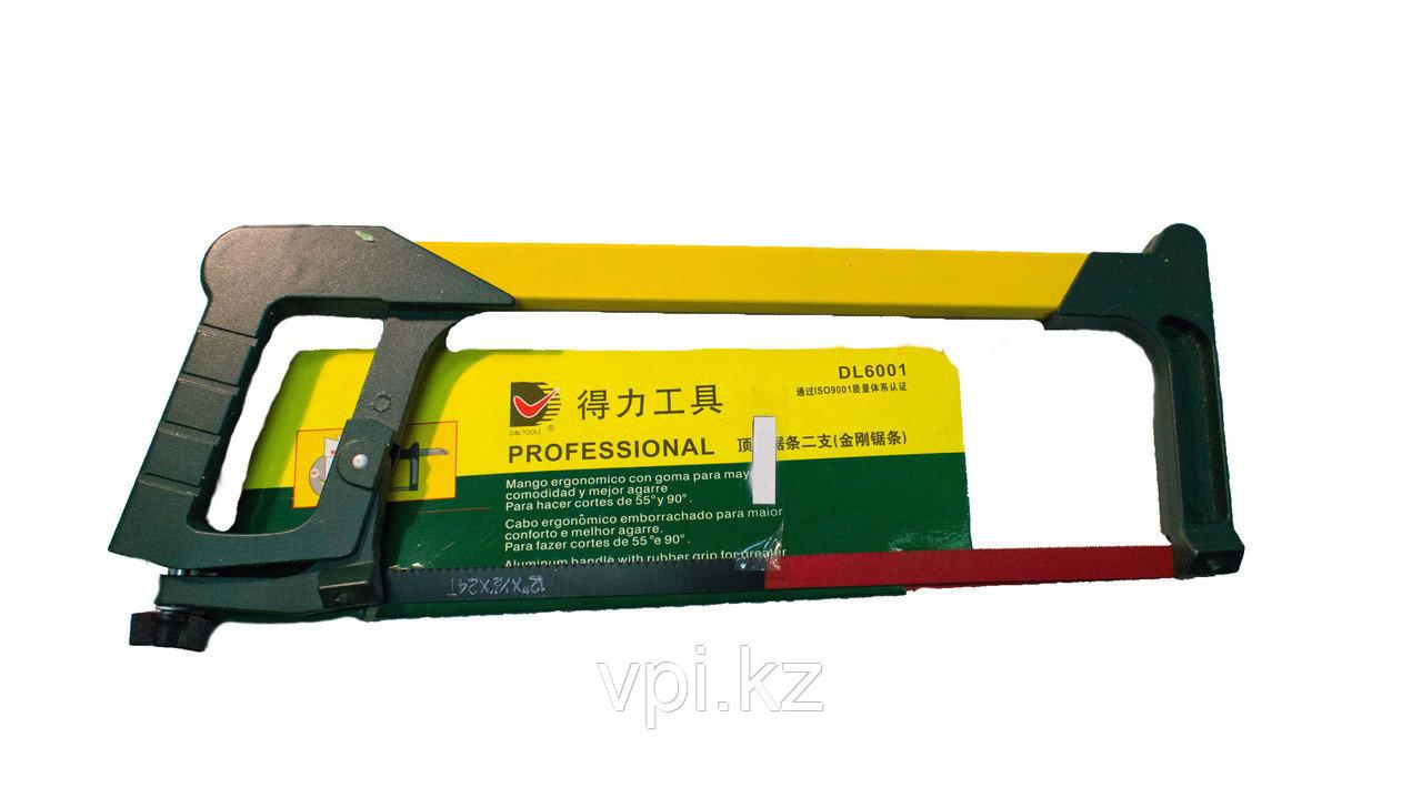 Ножовка по металлу прямая, 300мм. De&Li Profi