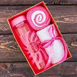 """Набор """"Sweet life"""", бутылка для воды (500 мл), полотенце (30 х 30 см), фото 2"""