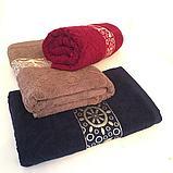 "Махровое полотенце для лица ""Ракушки"" 50*90 см. , фото 4"