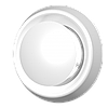 А 200 PL. Анемостат приточно-вытяжной регулируемый c фланцем D200 PL