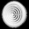 Диффузор приточно-вытяжной со стопорным кольцом и фланцем 200DK