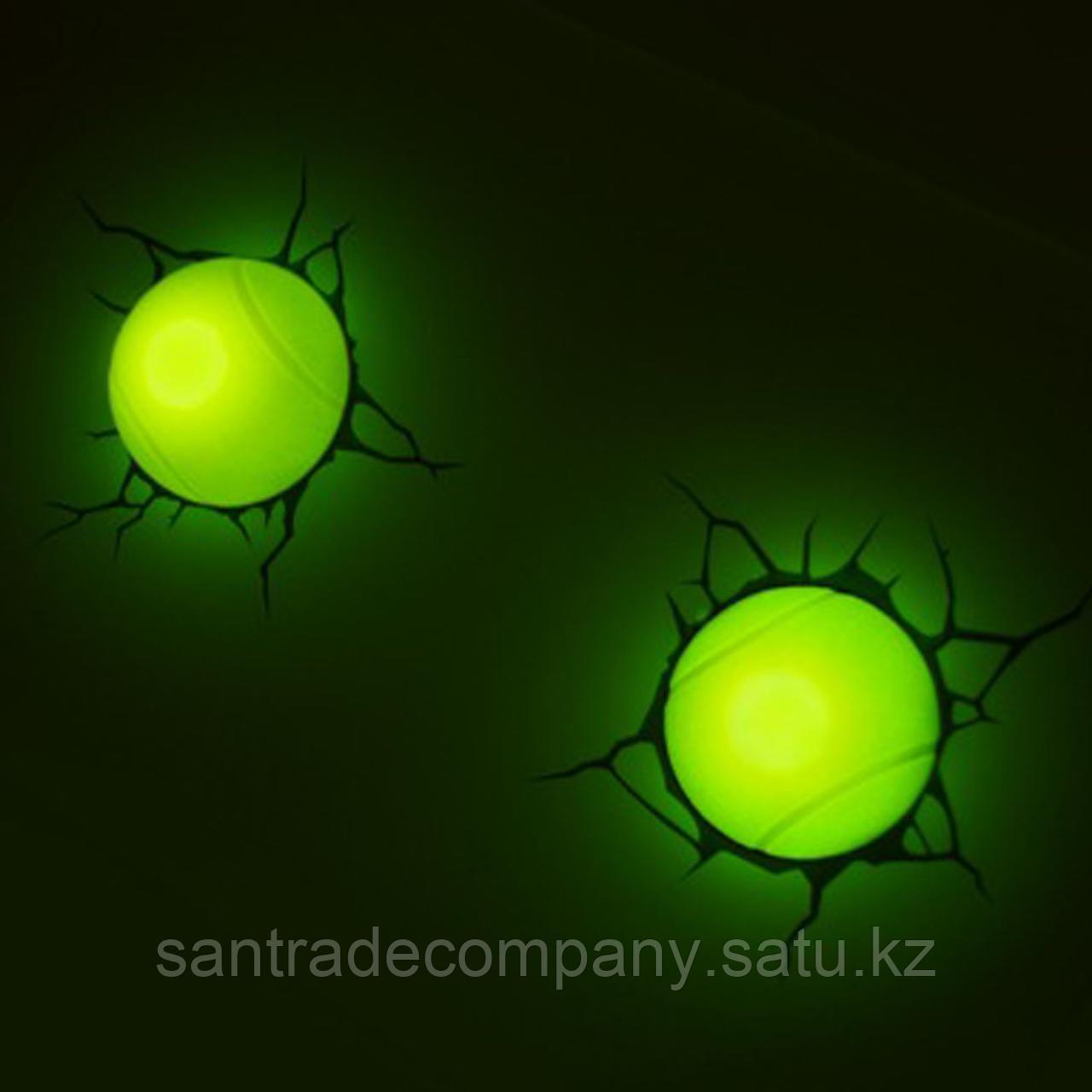 """3D- светильник """"Теннис"""""""