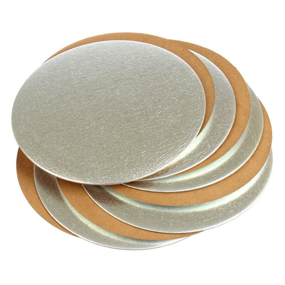 Pasticciere. Подложка золото/серебро 240 мм (Толщина 0,8 мм)*100шт/упак