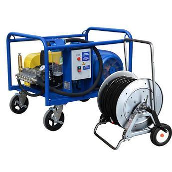 Серия высокопоточных аппаратов 45 кВт 120-350 бар, 60-200 л/мин
