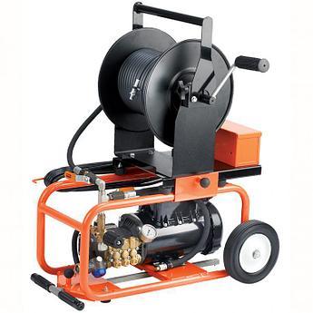 Прочистной аппарат JM-1450, 1,5кВт(220В), 103бар, 7,7л/мин (General Pipe Cleaners, США)