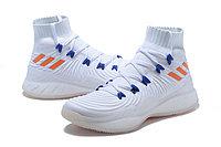 "Баскетбольные кроссовки Adidas Crazy Explosive 2017 ""White/Blue/Orange"" (40-46), фото 2"