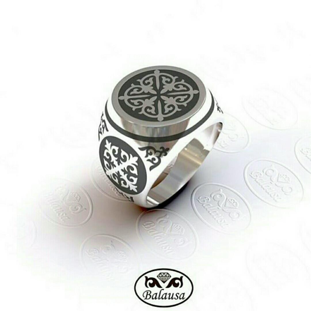 "Кольцо ""Балауса"" 925"