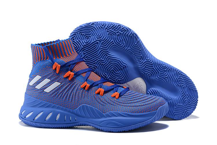 """Баскетбольные кроссовки Adidas Crazy Explosive 2017 """"Blue/Red"""" (40-46)"""