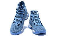 """Баскетбольные кроссовки Adidas Crazy Explosive 2017 """"Sky Blue/Black"""" (40-46), фото 3"""