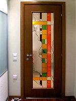 Витражи для межкомнатных дверей, D-129