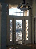 Витражи для межкомнатных дверей, D-138