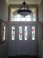 Витражи для межкомнатных дверей, D-141