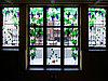 Витражи в окнах, O-49