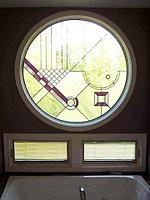 Витражи в окнах, O-63
