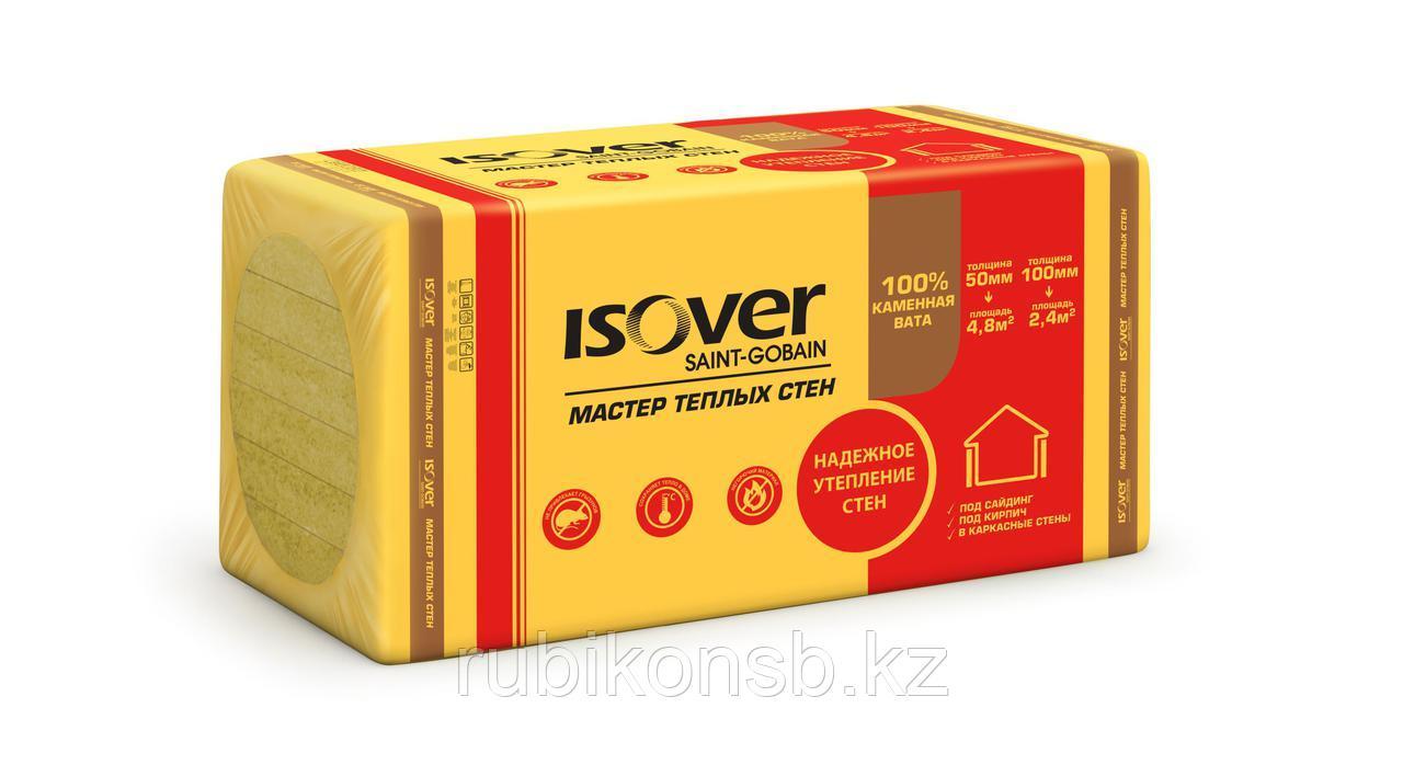 Минплита ISOVER Мастер Теплых Стен 1000х600х50мм, 4,8м2