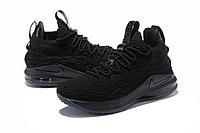 """Баскетбольные кроссовки Nike LeBron XV (15) Low """"Black"""" (40-46), фото 2"""