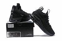 """Баскетбольные кроссовки Nike LeBron XV (15) Low """"Black"""" (40-46), фото 6"""
