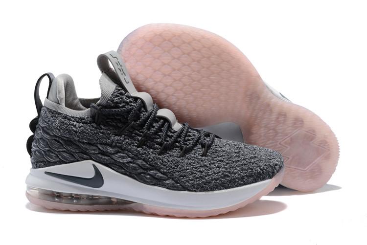 """Баскетбольные кроссовки Nike LeBron XV (15) Low """"Light Bone"""" (40-46)"""