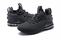 "Баскетбольные кроссовки Nike LeBron XV (15) Low ""Dark Grey/Black"" (40-46), фото 2"