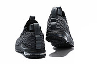 "Баскетбольные кроссовки Nike LeBron XV (15) Low ""Dark Grey/Black"" (40-46), фото 5"