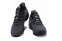 "Баскетбольные кроссовки Nike LeBron XV (15) Low ""Dark Grey/Black"" (40-46), фото 3"