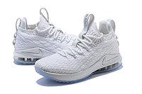 """Баскетбольные кроссовки Nikе LeBron XV (15) Low """"White/Ice"""" (40-46), фото 2"""