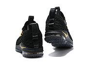 """Баскетбольные кроссовки Nikе LeBron XV (15) Low """"Black/Gold"""" (40-46), фото 5"""