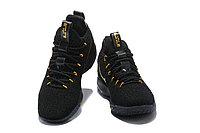 """Баскетбольные кроссовки Nikе LeBron XV (15) Low """"Black/Gold"""" (40-46), фото 3"""
