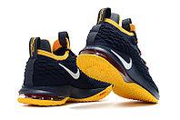 """Баскетбольные кроссовки Nike LeBron XV (15) Low """"Cleveland"""" (40-46), фото 3"""