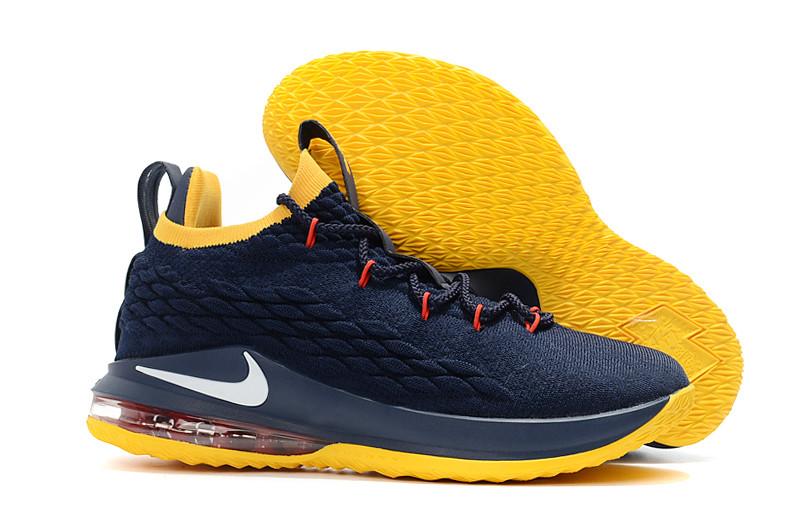 """Баскетбольные кроссовки Nike LeBron XV (15) Low """"Cleveland"""" (40-46)"""