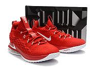 "Баскетбольные кроссовки Nike LeBron XV (15) Low ""Chinese Red"" (40-46), фото 5"