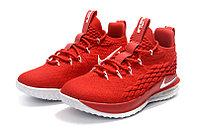 "Баскетбольные кроссовки Nike LeBron XV (15) Low ""Chinese Red"" (40-46), фото 2"