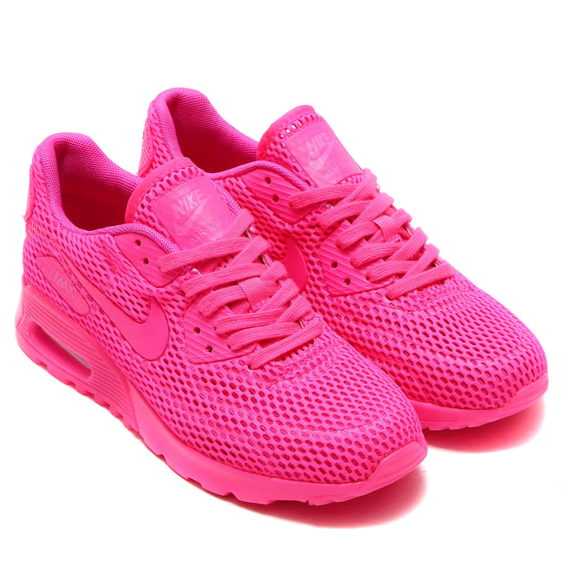 """Летние кроссовки Nike Air Max 90 Ultra BR """"Pink"""" (36-40)"""