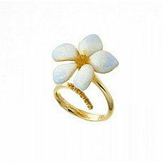 Кольцо «Цветок» Misis / 17 размер