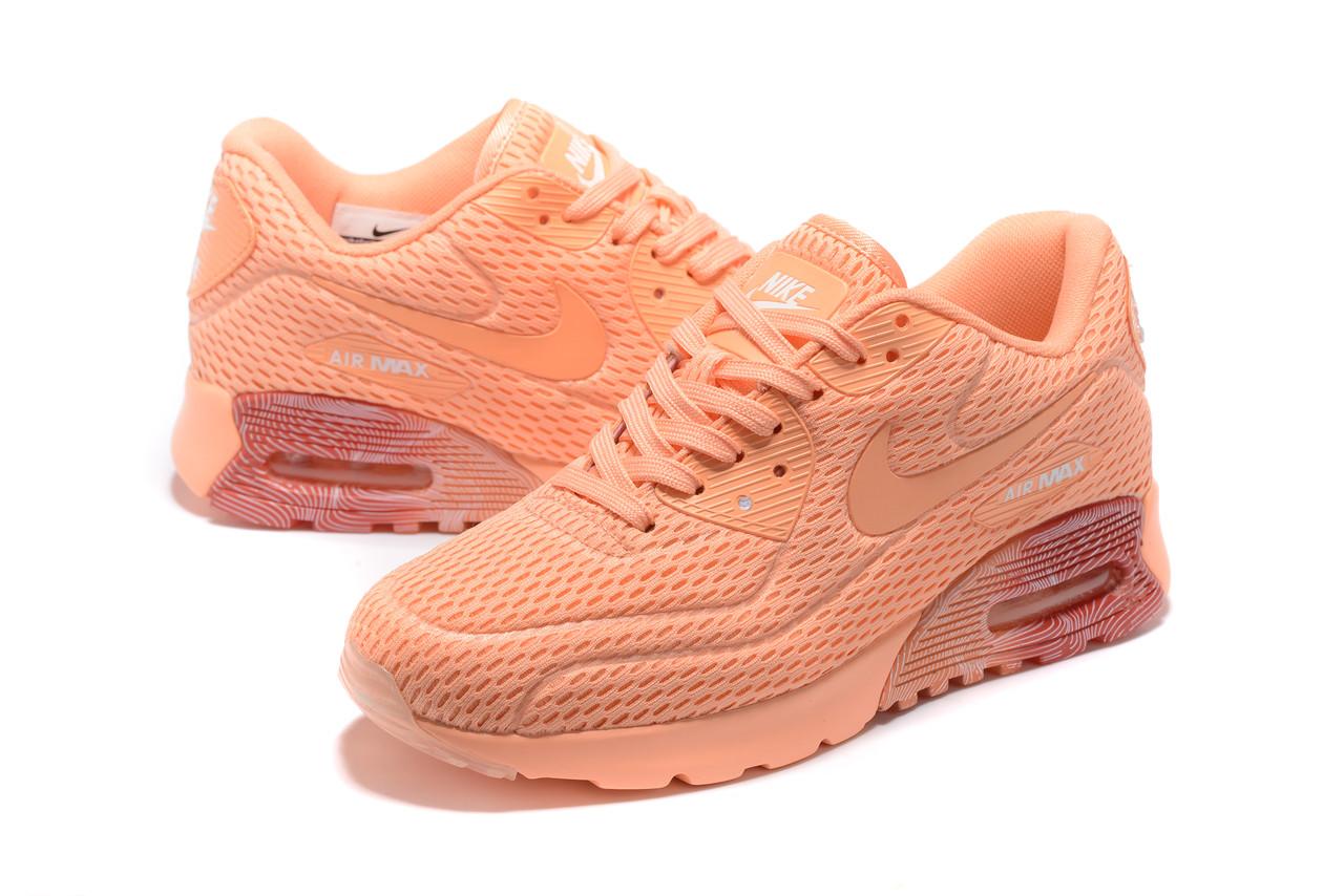 """Летние кроссовки Nike Air Max 90 Ultra BR """"Orange"""" (36-40)"""