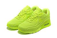"Летние кроссовки Nike Air Max 90 Ultra BR ""Fluorescent Yellow"" (36-45), фото 2"