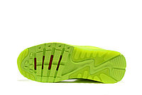"Летние кроссовки Nike Air Max 90 Ultra BR ""Fluorescent Yellow"" (36-45), фото 6"