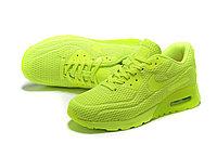 "Летние кроссовки Nike Air Max 90 Ultra BR ""Fluorescent Yellow"" (36-45), фото 4"
