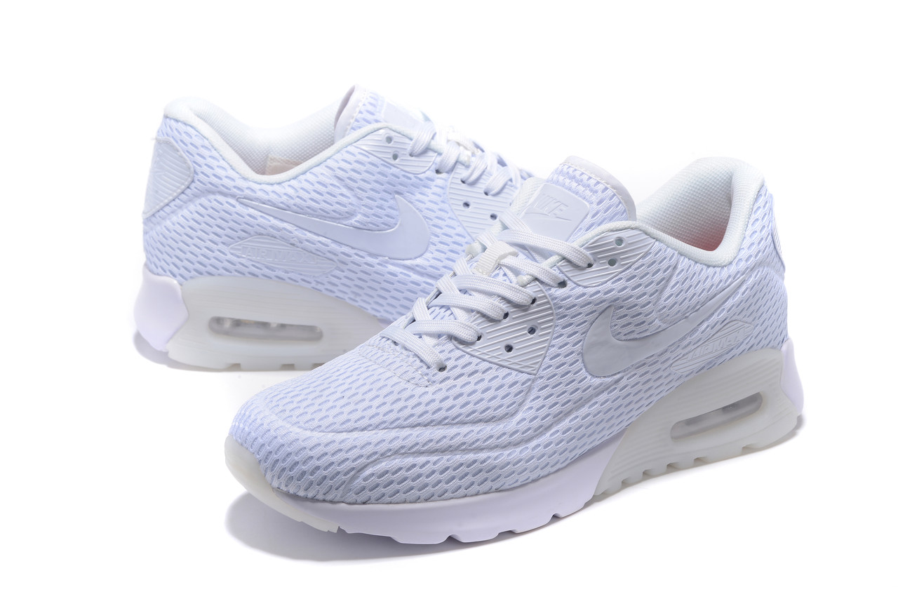 "Летние кроссовки Nike Air Max 90 Ultra BR ""Platinum White"" (36-45)"