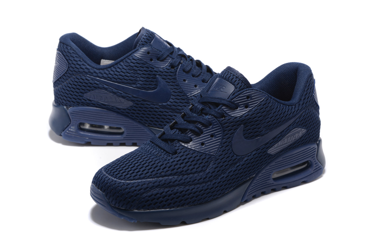 "Летние кроссовки Nike Air Max 90 Ultra BR ""Navy Blue"" (36-45)"