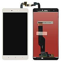 Дисплей Xiaomi Redmi Note 4X, с сенсором, цвет белый