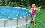 Щетка изогнутая для очистки стенок и дна бассейна Curved Wall Brush, 40.5 см , Intex 29053, фото 3