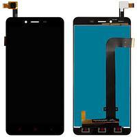 Дисплей Xiaomi Redmi Note 2/ Note 2 Prime, с сенсором, цвет черный